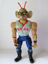 "1993 Biker Mice From Mars Home Run Throttle Figure Sports Baseball Nubs 5.5"""