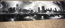 Chicago Storm Blakeway Panoramas Skyline Poster Brand New