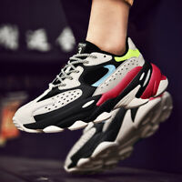 Men's Fashion Shoes Outdoor Sports Sneakers Athletic Gym Breathable Ultralight