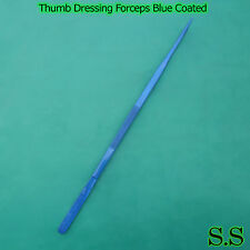 "(Huge Tweezers) Thumb Dressing Forceps 24"" Blue Coated Surgical Instruments"