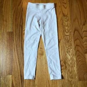 Crewcuts girls cream everyday leggings size 6