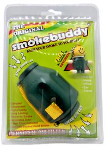 SMOKE BUDDY SMOKEBUDDY ORIGINAL AIR FILTER Green - Free Keychain - Free Shipping