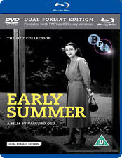 EARLY SUMMER &  WHAT DID THE LADY FORGET (&DVD) - BLU-RAY - REGION B UK