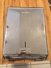 Vintage Mid Century Nibroc Chrome Wall-Mounted Paper Towel Dispenser Gas Station