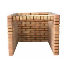 90cm Outdoor BBQ Pizza Oven Stand - RED BRICK FOR GARDEN!