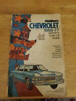 Chilton's Chevrolet 1968-77 Repair and Tune-Up Guide
