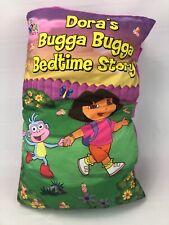 Dora Explorer Plush Pillow Book Dora's Bugga Bugga Bedtime Story, Children HG4