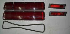 1968 Shelby GT Mustang: Rear Taillight Lenses and Side Marker Lights  *Original*