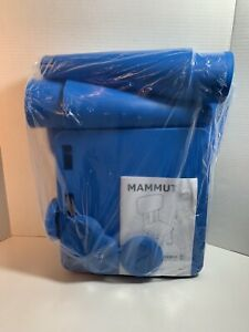 IKEA MAMMUT Child Stool Chair Blue Indoor Outdoor New Sealed In Plastic