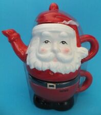 Christmas Tea Pot Father christmas New Novelty for One BHS Store Collectable