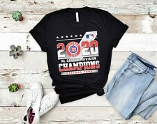 2020 NL Central Division Champions Chicago Cubs T-shirt, Unisex tee