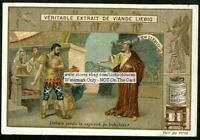 Jerimiah Babylon Holy Bible Story Religion c1905 Trade Ad Card