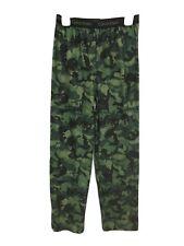 Boy's Calvin Klein Sleep Lounge Pants Camouflage Green Black Size 10/12
