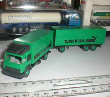 SEMI REMORQUE WIKING CAMION IVECO PUMA TURN IT ON TRUCKS SCALE 1:87 HO OCCASION