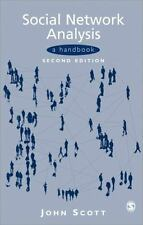 Social Network Analysis : A Handbook by John Scott (2000, Paperback, Revised)