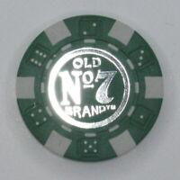 Jack Daniels Poker Chip $25 Green