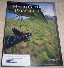 Hang Gliding & Paragliding Magazine November 2008
