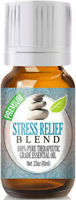 """Stress Relief Blend Essential Oil 10ml - 100% Therapeutic Oil  """"FREE SHIPPING"""""""