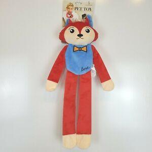 "ED by Ellen DeGeneres Love, Crinkle Squeaky Fox Dog Toy, 21.5"" Interactive NEW"