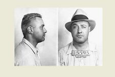 1933 Machine Gun Kelly Mug Shot PHOTO Great Depression PROHIBITION Gangster