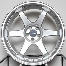 "18"" MiRO 398 Wheels Set For G35 G37 350Z Z33 370Z RX7 18X9.5 / 18X10.5 Rims  (4)"