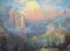 Thomas Kinkade - Artist's Point Yosemite - Signed Limited-Edition Litho - MINT