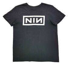 Nine Inch Nails NIN Logo Tee Black Size L Unisex T Shirt