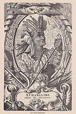 Originaldrucke (1800-1899) aus Südamerika mit Porträt- & Persönlichkeiten-Motiv