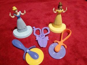 Disney PRINCESS Belle, Cinderella Play-Doh Stamps replacement parts