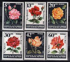 6043 BULGARIA 1985 Roses **MNH