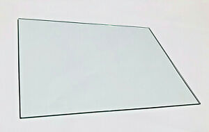 """Tempered Glass MULTI-PURPOSE 3/16""""x12""""x16"""" clear with rounded and polished edges"""