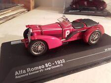 alfa romeo 8c 1932 winner vainqueue   24 heures du mans 1932  ixo