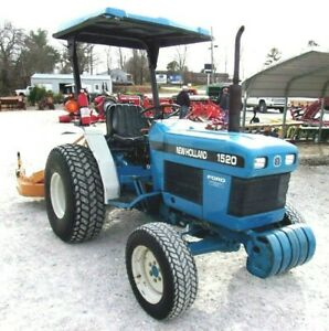 New Holland 1520 4x4 with Woods Finish Mower - *FREE 1000 MILE DELIVERY FROM KY