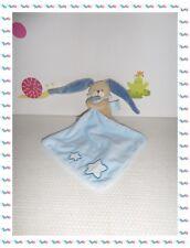 U - Doudou Peluche Lapin  Mouchoir Bleu Etoiles Luminescent Baby Nat