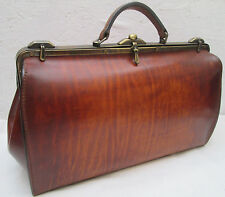 "-AUTHENTIQUE sac type docteur DANIEL SUJOL ""barbentane"" cuir  TBEG vintage bag"