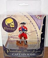 NEW Pirateology Mini Pirate Figure- Captain Kidd-ACTION FIGURE -COLLECTABLE