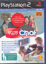 EYE TOY CHAT - PS2 (NUOVO SIGILLATO) ITALIANO