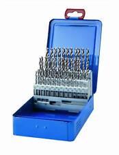 Spiralbohrer Satz HSS-G  1,0-5,9 mm - 0,1 mm steigend 50 tlg. Metall Bohrer Box