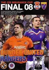 2008 SCOTTISH CIS CUP FINAL - RANGERS v DUNDEE UNITED