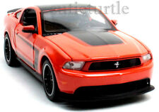 Maisto 2012 Ford Mustang Boss 302 1:24 Diecast Model Toy Car 34269 Orange