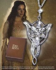 Licensed Lord of the Rings Arwen Evenstar Sterling Silver Pendant Necklace