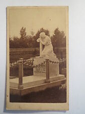 Turn Bridge Wells-Cemetery-Grave Wilhelmina Broadway? 1852-1866/CDV