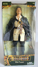 "AMAZING 2006 PIRATES OF THE CARIBBEAN WILL TURNER 12"" FIGURE ZIZZLE BRAND NEW !"