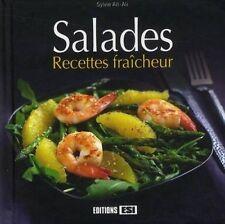 Salades : Recettes fraicheur par Sylvie Ait-Ali (Hardcover 2010)