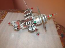 Coors Light Beer Can Plane Airplane Made from Real cans Very Detailed