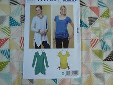 Kwik Sew 3802 misses pullover tops SEXY TOPS Sewing Pattern size XS-S-M-L-XL