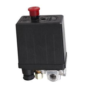 Solid 90-120PSI Air Compressor Pump Pressure Switch Control Valve Heavy Duty