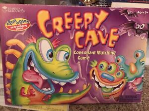 Creepy Cave Consonant Matching Game by Learning Resources Educational Game Age5+