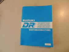 Werkstatthandbuch Reparaturanleitung Suzuki DR 750 800 S 1988-1996