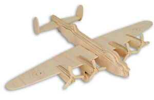 Lancaster Bomber   QUAY Woodcraft Construction Kit FSC